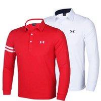 Nouveaux mode Marque Golf vêtements à manches longues T-shirt Golf 4 couleurs taille S-XXL dans le choix pour le sport Wear Livraison gratuite