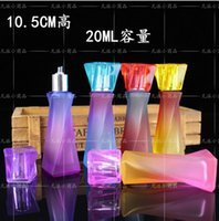 alcohol hookah - Smoking Diamond crystal glass alcohol lamp wick send rainbow colors glass bongs glass hookah accessories color rand