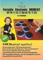 Wholesale Portable Electronic DRUM KIT Musical Instruments Percussion Drum set Electronic Drum Kit