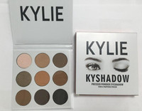 Wholesale 2016 new kylie Kyshadow pressed powder eye shadow palette the Bronze Palette Kyshadow Kit Kylie Cosmetic colors DHL free discount price