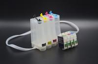 Wholesale DIY Empty ME200 ME2 C58 CISS for Epson printer T0761 T0762 T0763 T0764 Ink Cartridge