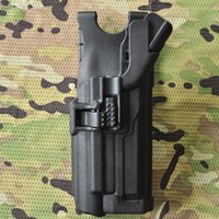 Wholesale Black Hawk Lv3 M9 Gun Holster With Light Waist Suitable for M9 CS High Quality Outdoor Hunting Safety Gun Case