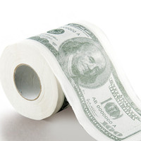 Wholesale Currency Tissue Paper bathroom accessories Toilet USD tissue Roll Paper