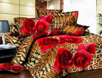 Wholesale high quality cotton Designers d Reactive printing bedding sets comforter duvet covers bed cheet Pillowcase bedclothes bed Linen