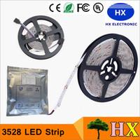 Wholesale 3528 SMD M Leds Waterproof flexible led strips light V LEDs m LEDs m for Christmas lights