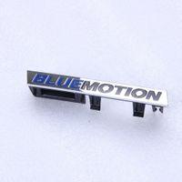Wholesale VW Golf Passat B6 C OEM Front BLUEMOTION Car Standard Badge Emblem With Bracket Clips C0