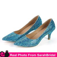 ballet pumps sale - Sparkly Bridal Shoe for Brides Bridesmaids Party Women s Colorful Wedding Evening Dress Shoes CM Sweet Junios Prom Girls Pumps Sale