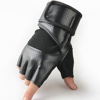 Wholesale high quality Autumn Winter Outdoor Thickening Keep Warm Half Finger Riding Equipment Gloves