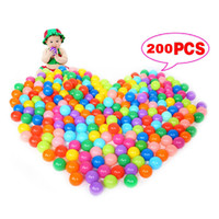 Wholesale 200pcs Secure Baby Kid Pit Toys Swim Soft mm Plastic Fun Colorful Ocean Balls