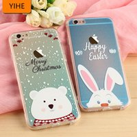 Wholesale apple iphone s phone cases fashion and personality cartoon apple plus following coloured drawing or pattern