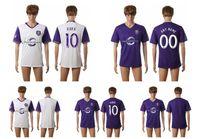 Wholesale Thailand Quality Season MLS Orlando City Purple White Soccer Jerseys Uniform Football Jerseys Embroidery Logos Kaka