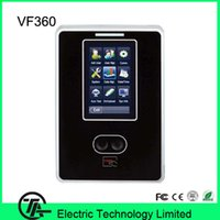 Wholesale 3 inch touch screen VF360 biometric face time attendance with MHZ IC card reader