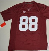 Wholesale New College Football Jerseys Alabama Jersey Red Color Size S XXXL Stitched Mix And Match Order Hot American Football Jerseys