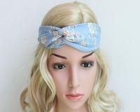 2016 nuevas señoras de la Cruz floral de Bohemia de flores de impresión turbante accesorios de la venda headbans nudo Headwrap pelo de las mujeres