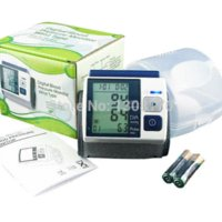 auto inflate blood pressure monitor - Wrist Type Blood Pressure Monitor Meter Auto Inflate Inflating Deflate Diflating Sphygmometer Sphygmomanometer Readings