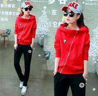 Wholesale 2016 the latest fashion leisure clothing ladies leisure sports Sweater Hoodie