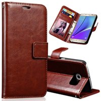 apples project - Note5 PU Leather Coque for Samsung Galaxy Note Case N9200 N9208 N9209 Project Noble Flip Stand Card Slot Wallet Cover Cases