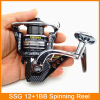 Wholesale New SsgTop quanlity Spinning Fishing Reel Carp Ice Fishing Gear Real BB casting pole rock wheel