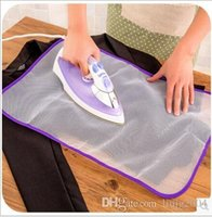 Wholesale new household portable fold ironing clothes mesh fabrics pad ironing board travel ironing board cover heat insulation pad