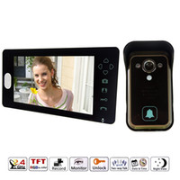 Wholesale 7 Inch Colorful LCD Screen Video Doorbell Video Door Phone Home Security Camera Monitor Intercom System