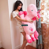 baby toy horse - Dorimytrader New cm Giant Stuffed Soft Plush Cartoon Unicorn Horse Toy Doll Nice Gift for Baby DY60258
