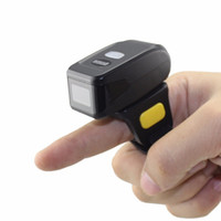 Wholesale Wearable D Barcode Scanner MINI Bluetooth Bar code Reader For Andriod IOS
