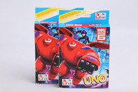 Unisex animations cards - Animation game Big Hero UNO cards poker Desktop Games