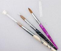 acrylic nail art pictures - Hot Sale Factory Direct Big SIZE Nail Art Brush Kolinsky Acrylic Nail Brush brush picture