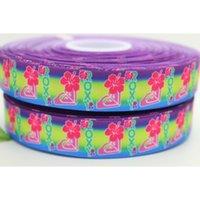 australian ribbon - 7 quot mm Popular Australian Brand Logo Printed Grosgrain Ribbon Bows Crafts Decorations DIY Hair Accessories A2