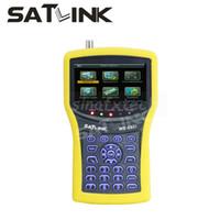 Wholesale 4 inch LCD Original SATLINK WS DVB S2 satellite finder WS6932 with Spectrum analyzer signal meter