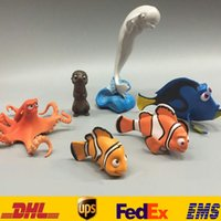 Wholesale In Stock Pixar Finding Nemo Dory Figures Toys PVC Action Figure Toys Furnishing Marlin Dolls Birthday Gifts SZ W016
