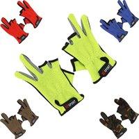 Wholesale Dew three fishing fishing supplies fishing tackle fishing gloves manufacturers