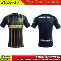 argentina rugby jersey - 2016 Rosario Central Jersey thai quality TARJETA CANALLA Rosario Central home shirt Argentina jersey