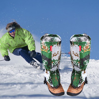 Wholesale Pair Outdoor Waterproof Mountaineering Snow Cover Foot Sleeve Camouflage