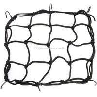 Wholesale Motorcycle Bike ATV Bungee Tank Helmet Web Cords Mesh Cargo Net Hook M00004 CARD