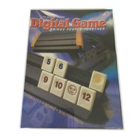 Wholesale Rummikub the original voyager Digital Game CM Strategy Rummy Board Games