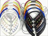 brand aaa - 130pc HBS HBS903 Headsets Tone Infinim Neckbands Wireless Stereo Earphones Bluetooth CSR4 Sport Headphone H HBS Headsets AAA