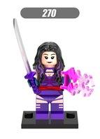 lego like best building toys - XH Building Blocks Sets Super Heroes Avengers Storm Heroes Minifigures Assemble Psylocke Minifigures Kids Blocks Mini Figures Best Toys