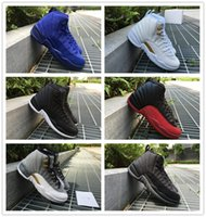 Wholesale Air Retro Wool Black Grey Basketball Shoes AAA Quality S GS Barons Master Flu Game Taxi Gamma Blue OVO PSNY Shoes