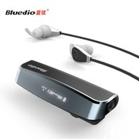 bass clip - Bluedio I6 HIFI wireless Bluetooth Headphone V4 Stereo Heavy bass headset sports bluetooth earphones Collar clip type