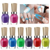 Wholesale 15ml Nail Art Peel Off Base Coat Liquid Latex Tape Skin Protected Cream Polish Separating Palisade Easy Clean DIY Manicure Tool