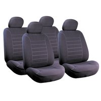 Wholesale Anti Dirt Car Seat Covers Polyester Velour D Embossed Anti Mud Front Car Accessories for Most Cars