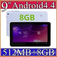 Wholesale 2015 quot Quad Core Android Tablet PC Actions Dual Camera mb GB Capacitive Touch Screen GHZ WIFI quot Tablet PC A PB