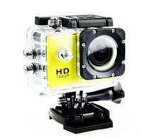 Wholesale 1080P Waterproof Sports Camera SJ4000 Style A9 HD Action Camera Diving M LCD View Mini DV DVR digital Camcorders