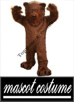 bear mascot suit - Prefesstion Big Grizzly Bear Mascot Costume party suit Adult size