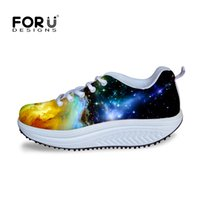 beauty colleges - Cool Graffiti Height Increasing Swing Shoes Women Slimming Wedges Casual Women Shoes College Girls Autumn Beauty Fitness Shoe