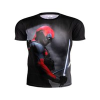 america dying - High quality Crazyfit compressed T shirt superman die shi spider man captain America fitness fitness shirt t shirts men