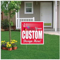 Wholesale factory direct hot sale competitive price best quality custom durable lightweight recyclable pp plastic advertising lawn yard signs board