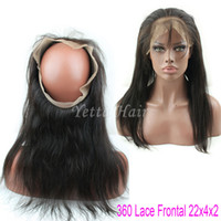 band wig - A Grade Top Quality Frontal Silky Straight Band Full Lace Closure Brazilain Virgin Hair Frontal