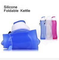 Wholesale My Friday Travel Bottle Silicone Foldable Silicone Sports Water Bottle Folding Water Bottle Outdoor Sport Portable Water Bottles D567